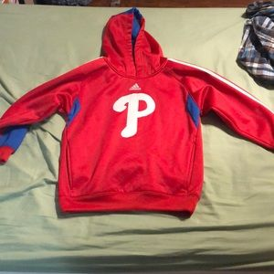 Youth Phillies red hoodie